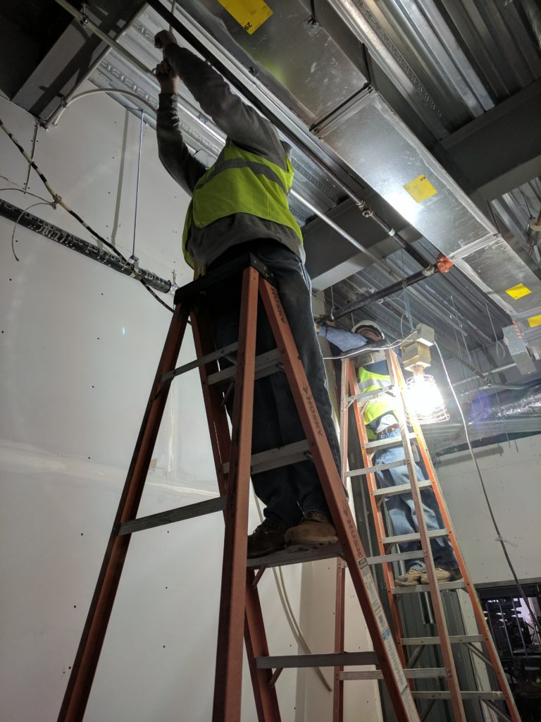 cell booster installation