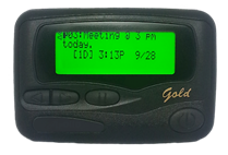Advisor Gold pager